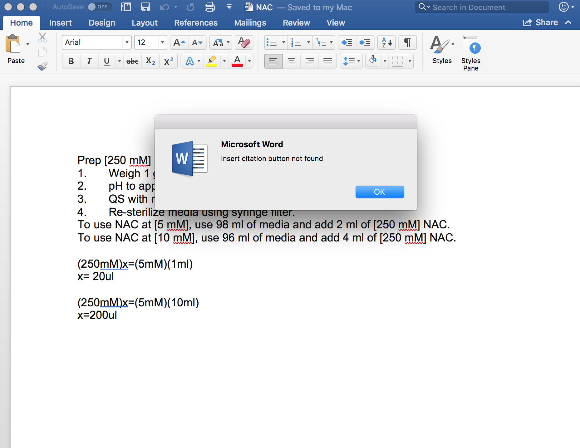 How to undo something on word
