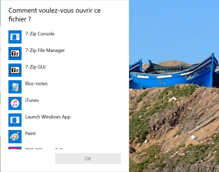 Windows 10 Demande D Ouverture Parasite D Un Fichier Au