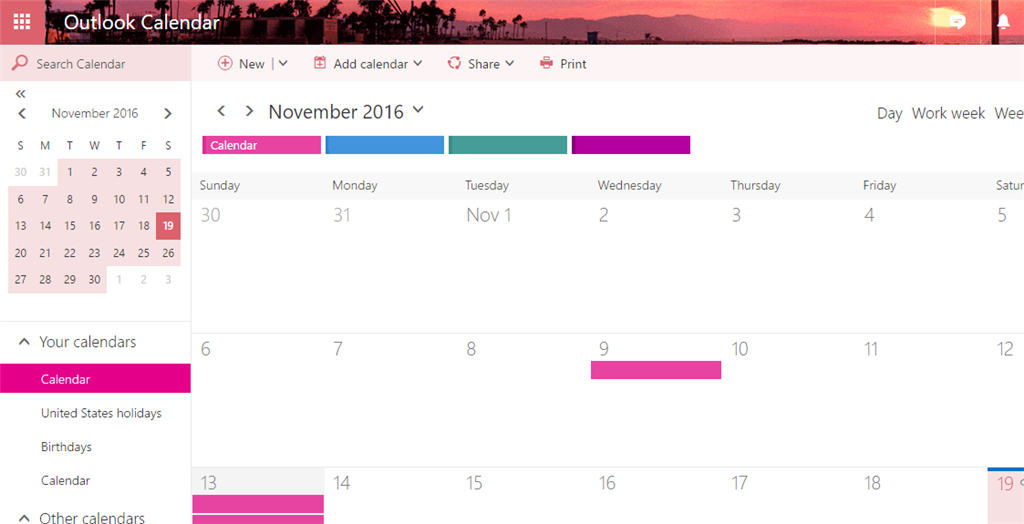Whats Happened To My Calendar??