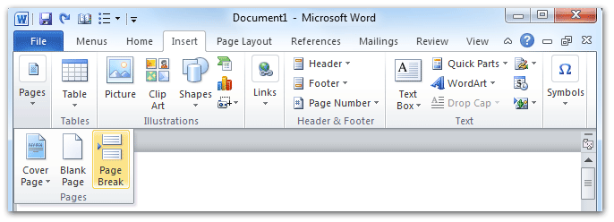 No Group Tab On Word