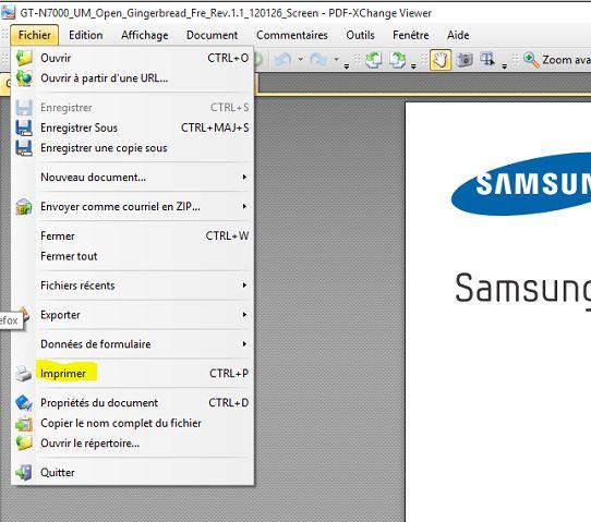 <b>Imprimer</b> <b>un</b> document <b>PDF</b> - <b>Windows</b> <b>8</b>