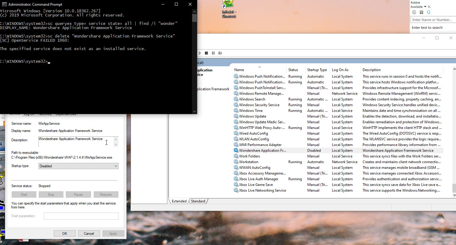 How To Uninstall A Windows Service From The Command Line How