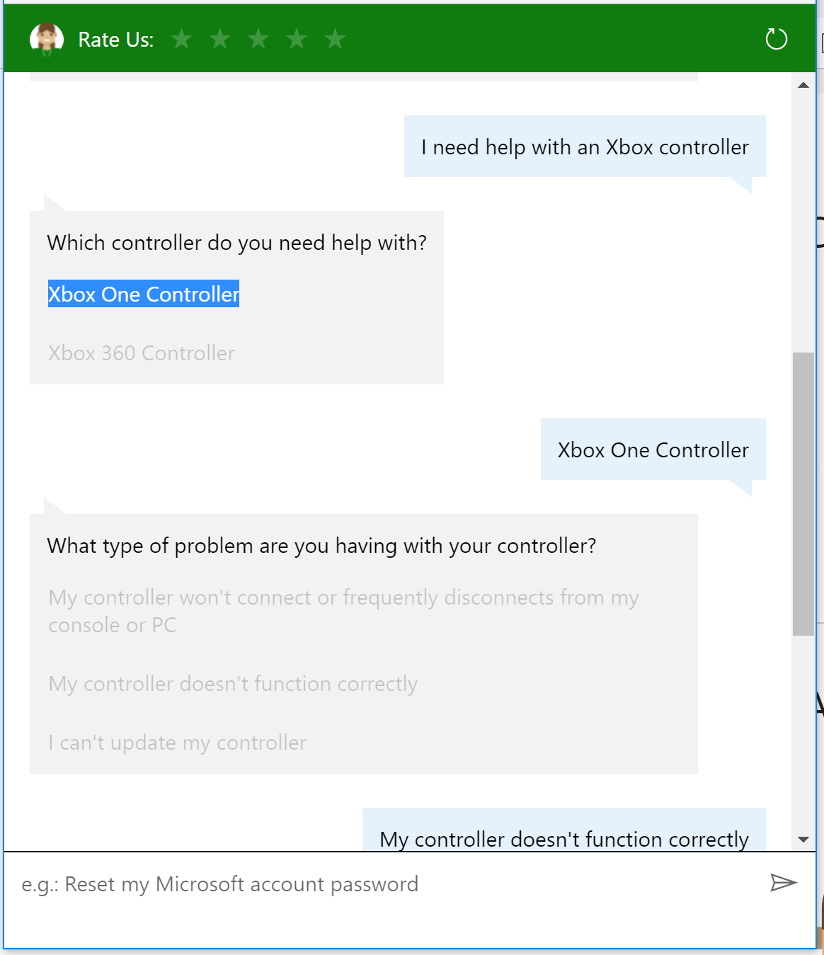 Windows 10 - Xbox One controller triggers do not work