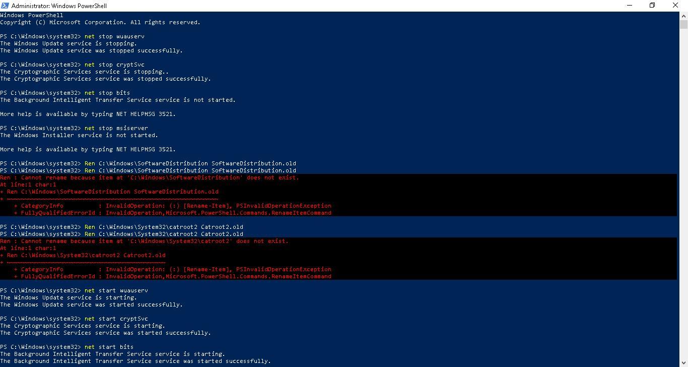 Win 10 Pro 1709 to 1803 Update Fail - Microsoft Community