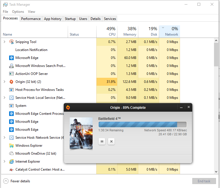 Windows 10 Task Manager Not Showing Network Usage? - Microsoft Community