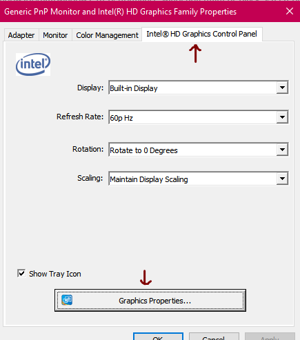 Intermittent BLACK SCREEN On monitor happens once then display is