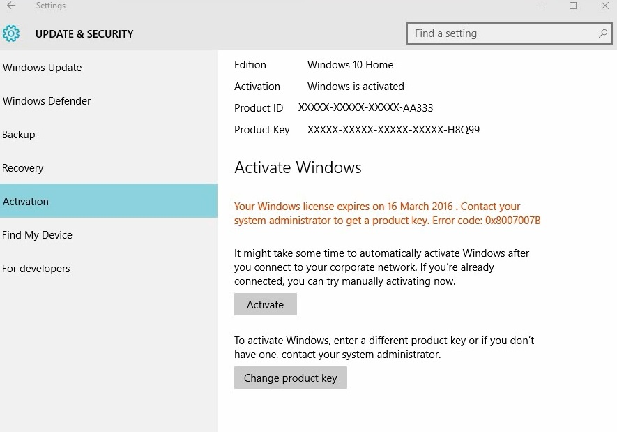 Windows 10 activation code not working after a reset microsoft image ccuart Choice Image
