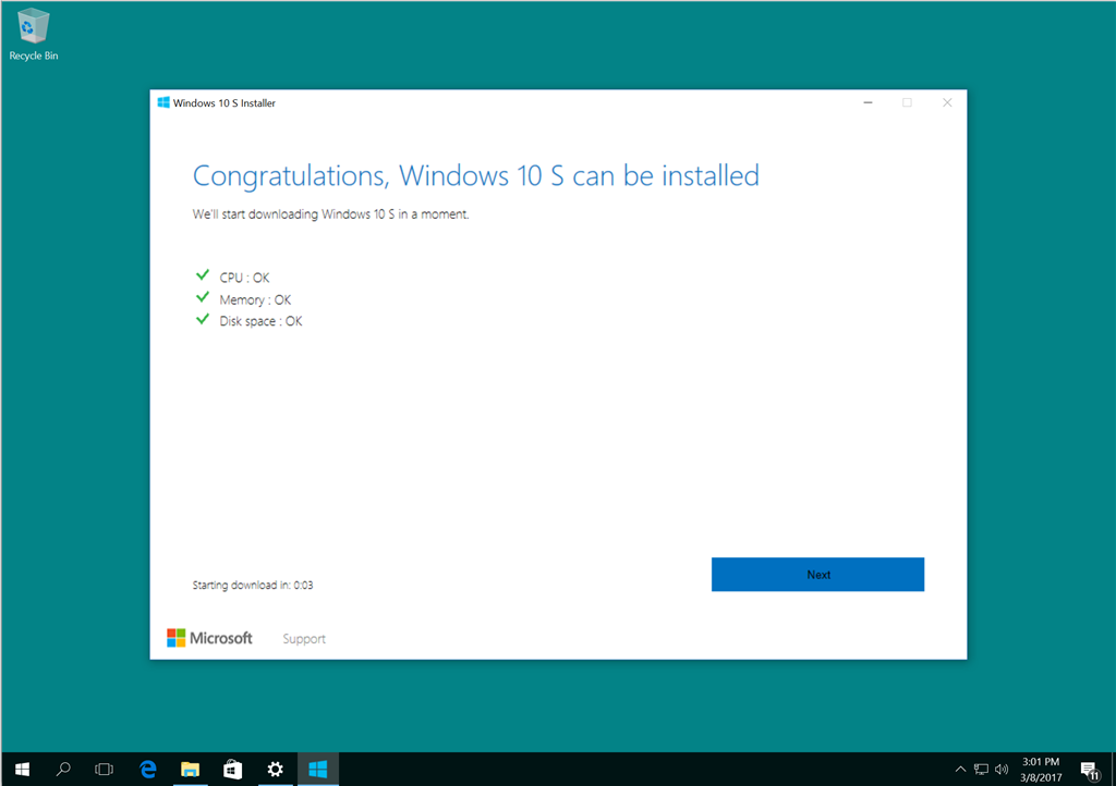 Tutorial: How to Install Windows 10 S - Microsoft Community
