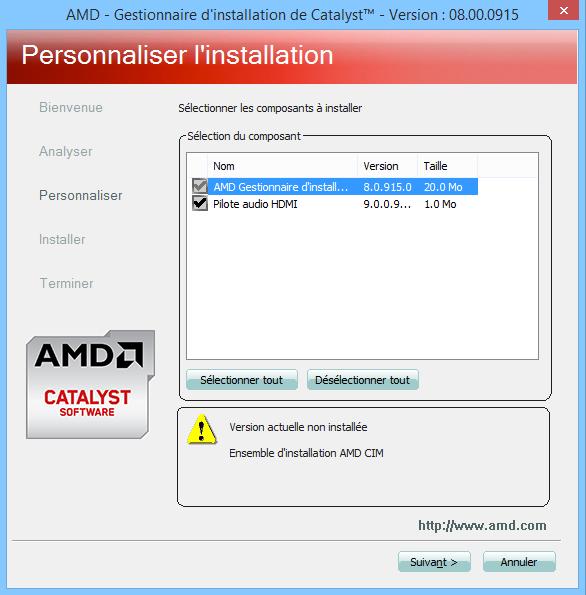 AMD Catalyst Control Center ne s'installe pas - Microsoft ...
