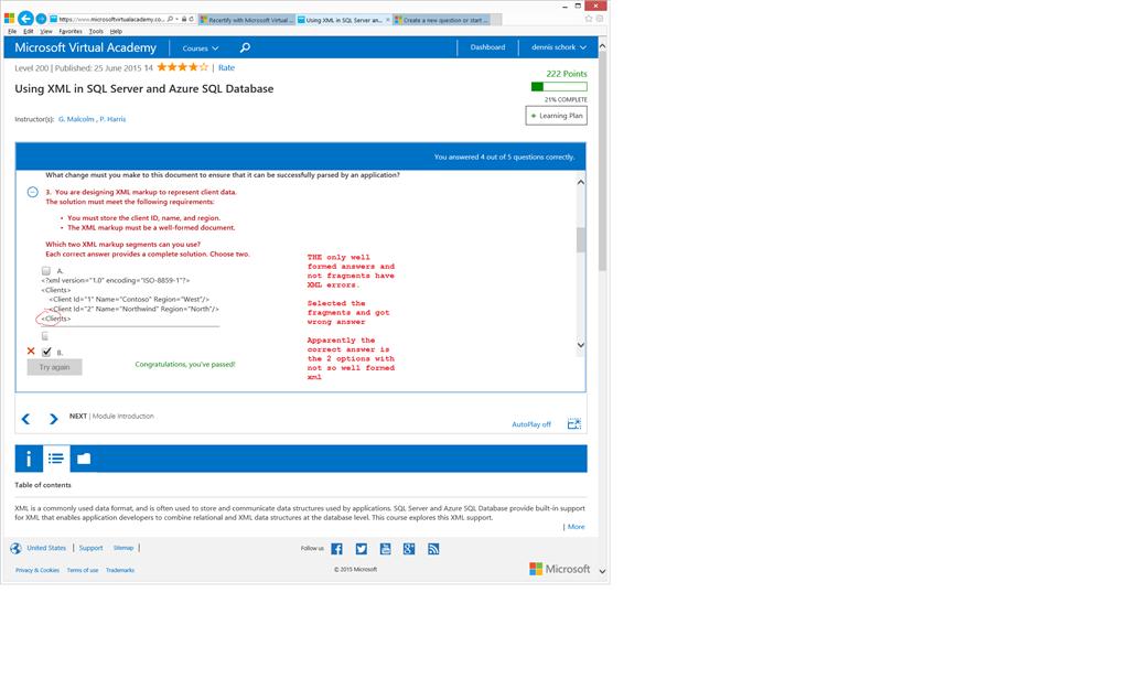 Using Xml In Sql Server And Azure Sql Database Training