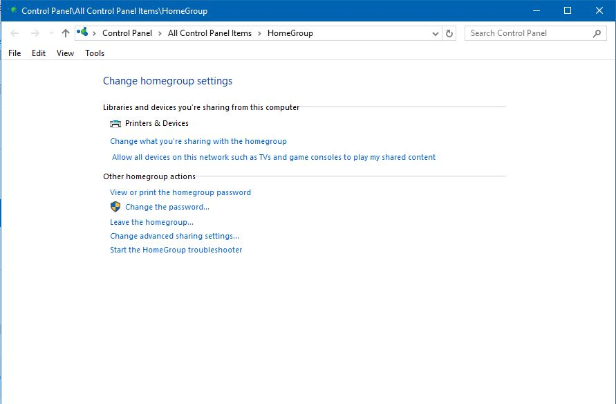 how to join homegroup in windows 10