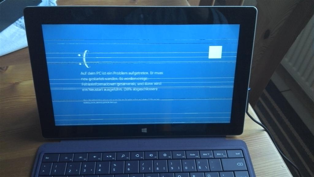 Surface 2 Bluescreen of Death messes with Office as well