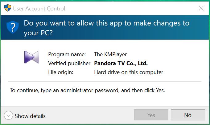 Administrator permission issues on Windows 10 - Microsoft