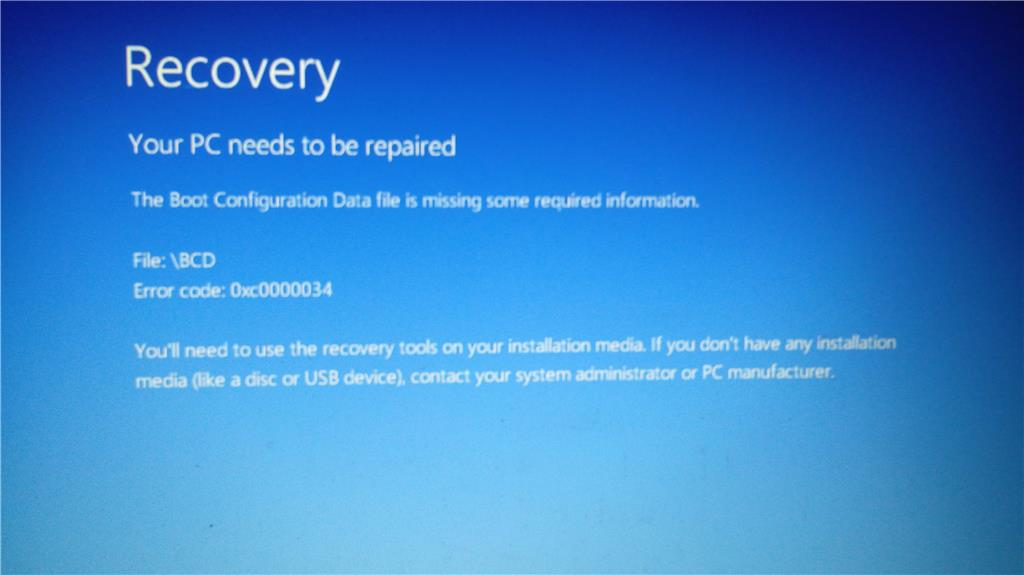 windows 8 recovery tools usb