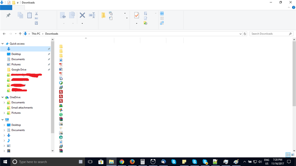 Task manager not showing any text - Microsoft Community