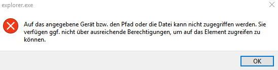 Windows 10 Problem: Anleitungen für Startmenü reparieren half nicht