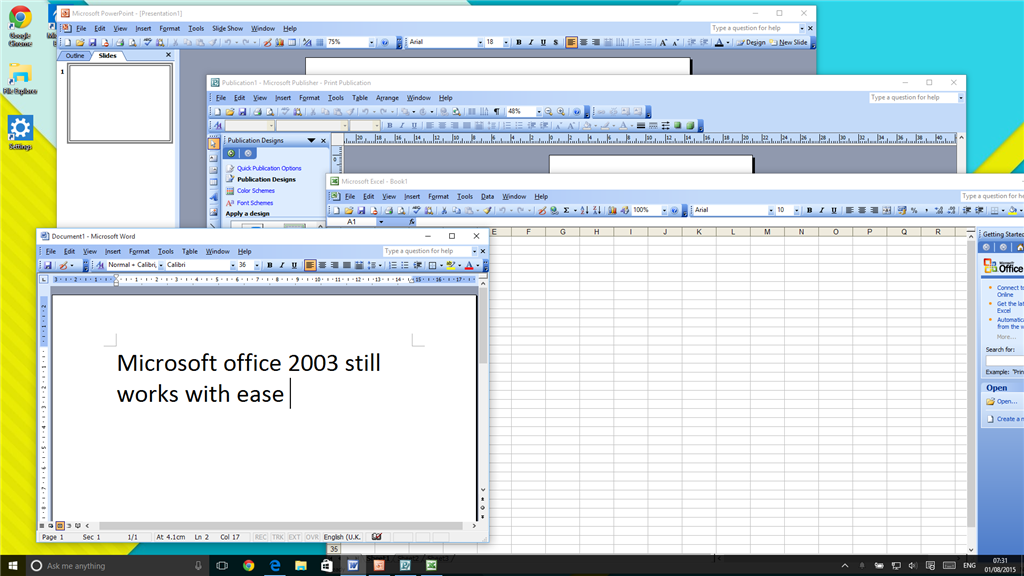 microsoft office 2003 free download for windows vista