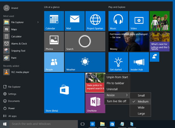 why does my start menu not work