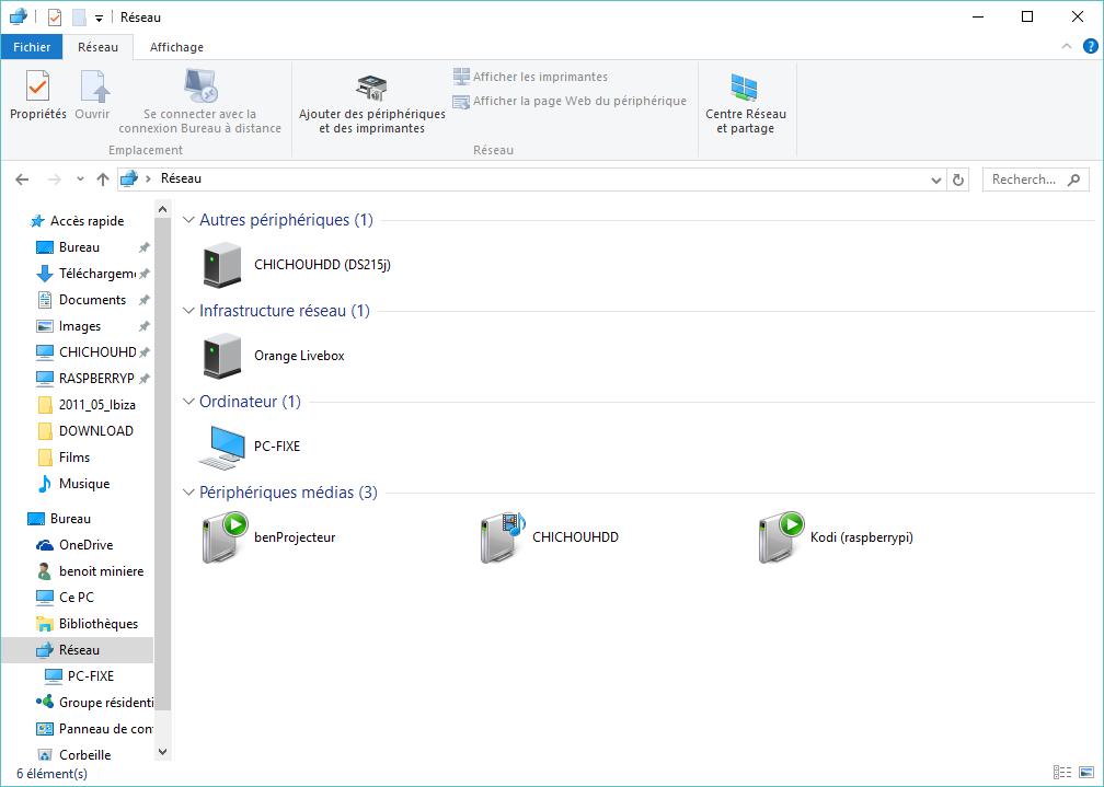 visibilit u00e9 des ordinateurs en r u00e9seau avec windows 10