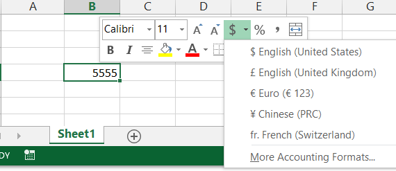 how to apply accounting number format in excel  Excel 2013 Accounting Number Format: Cant select $ - Microsoft Community