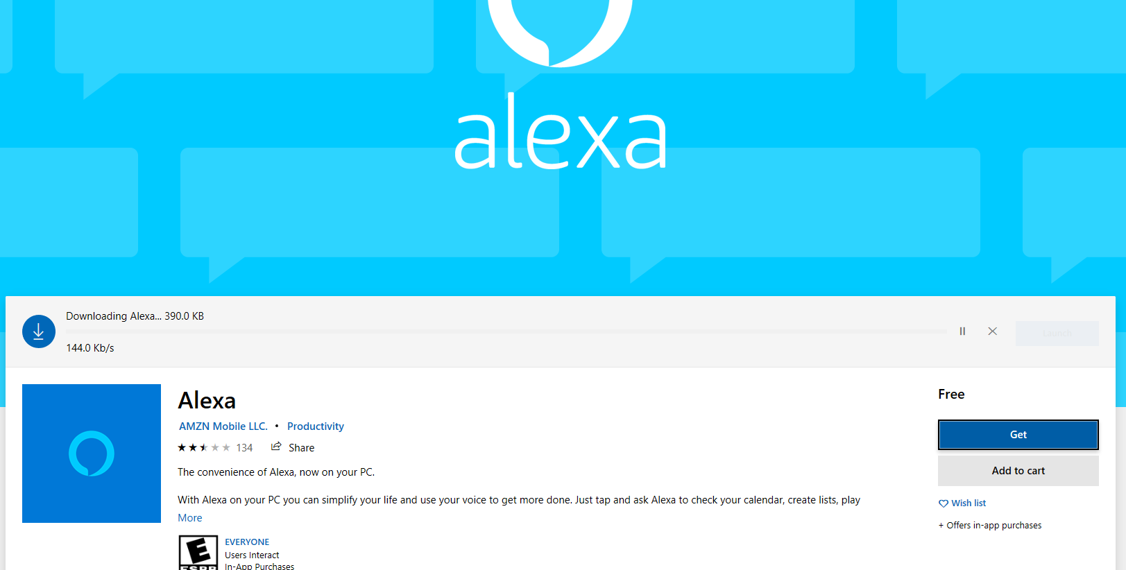 is alexa available for windows 10? - Microsoft Community