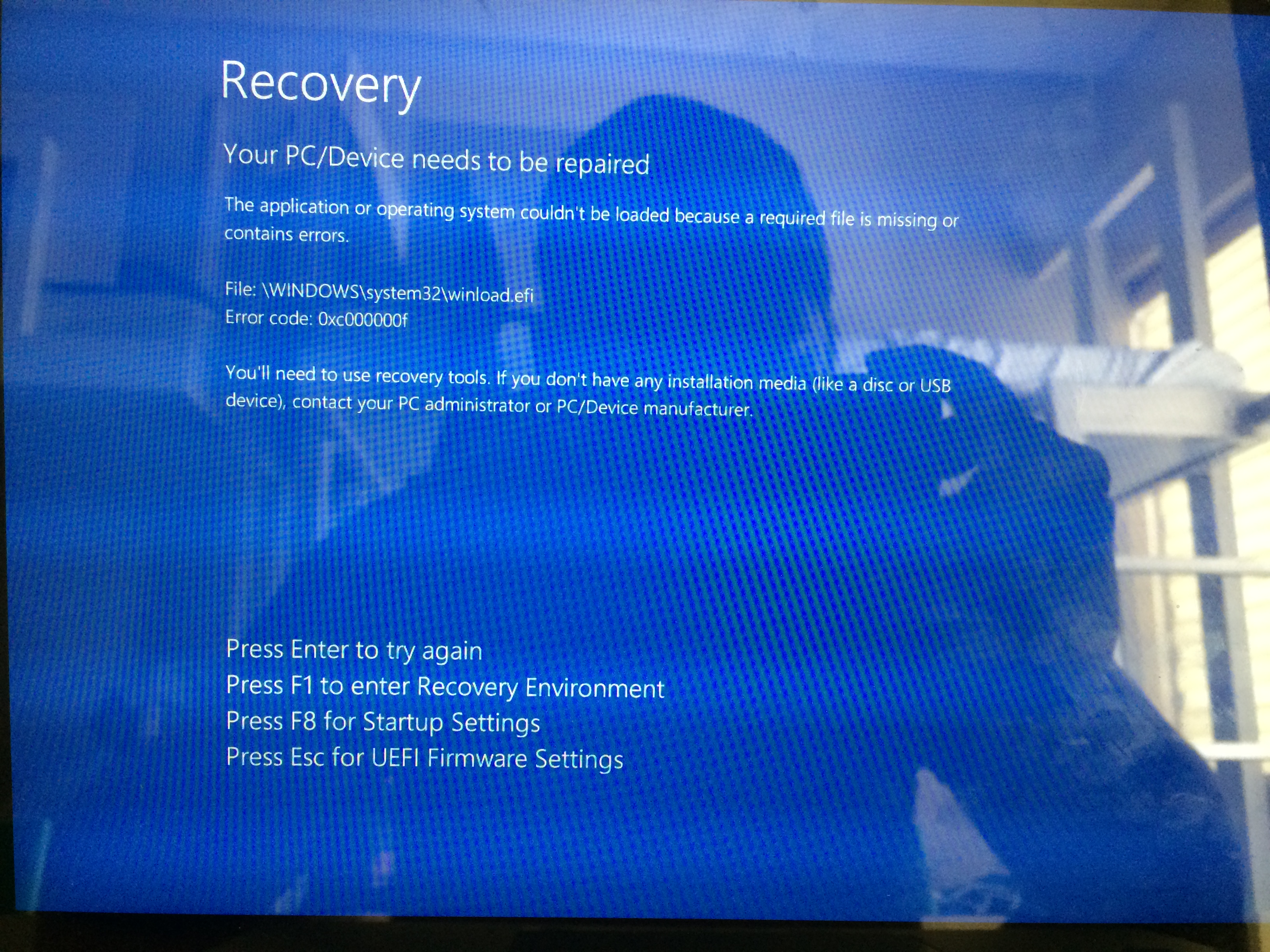 Hp Laptop Stuck In Recovery Mode Microsoft Community