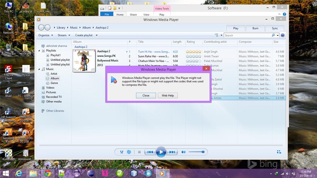 Windows media player 8 + donwload link youtube.