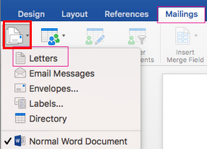 Can't find mail merge options - Microsoft Community