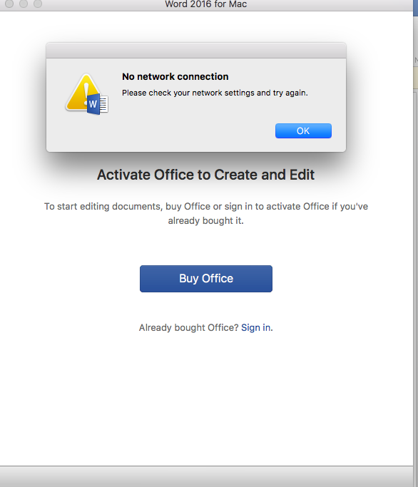 Unable to Activate my office 365 which i recently purchased