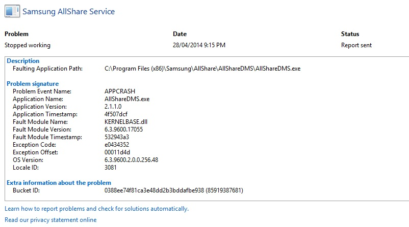 allshare download windows 8
