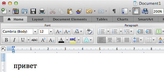 Bug report: Word 2011 changes font to MS Mincho when