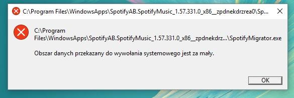 Problem Po Instalacji Aplikacji Spotify Ze Sklepu Windows