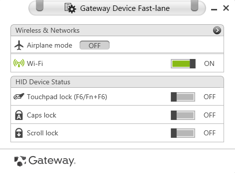 Gateway network adapter driver download