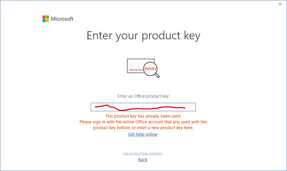 office 365 product key examples