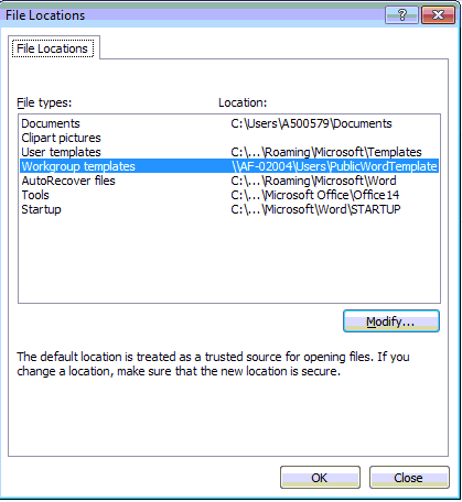 How To Share Word Documents Based On Same Template Dotm
