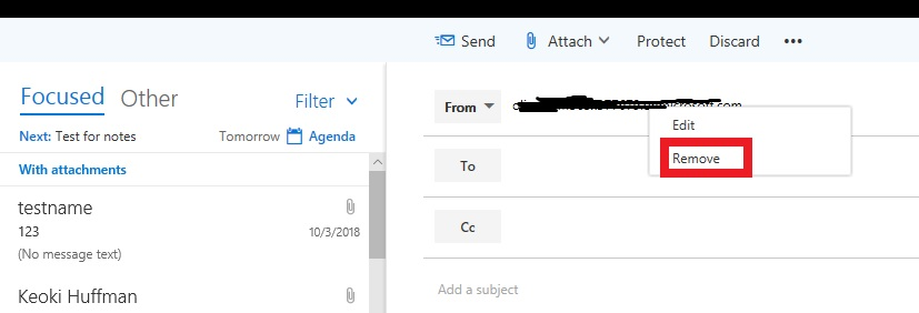 Cannot send as or on behalf Office 365 Group from outlook