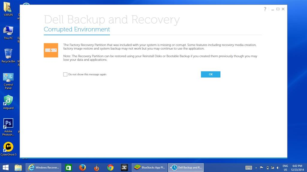 dell backup and recovery download