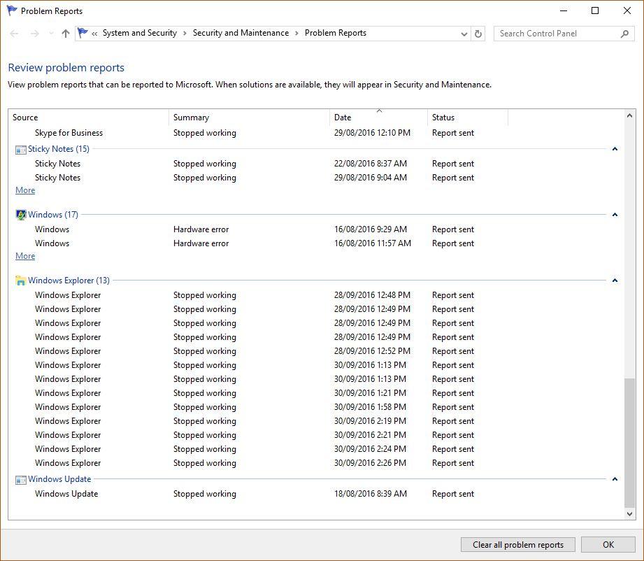 Quick Access Crashes Explorer - Microsoft Community