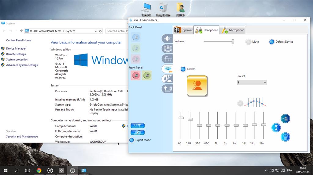 via audio driver windows 10 32 bit