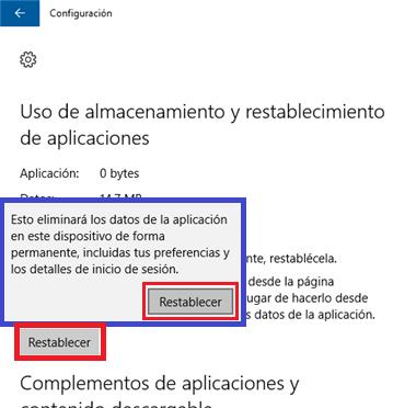 Windows 10 - Error
