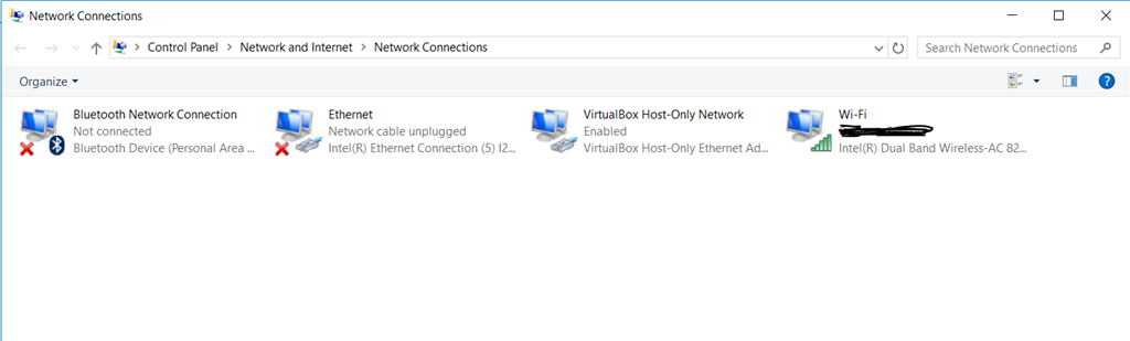 Local Area Connection Missing - Windows 10 - Microsoft Community