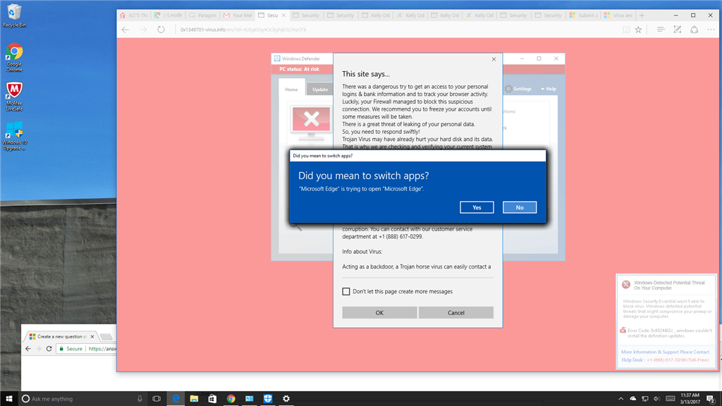 How do I get rid of this virus/malware problem that\u0027s freezing