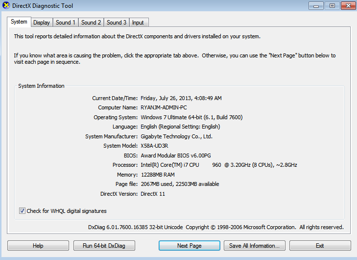 AMDXATA SYS STORAGE FILTER DRIVER UPDATE