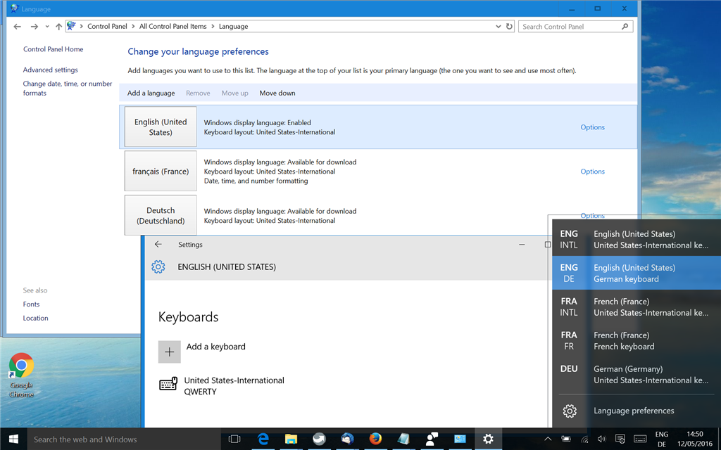 How To Remove Keyboard Layout On Windows 10 Microsoft Community