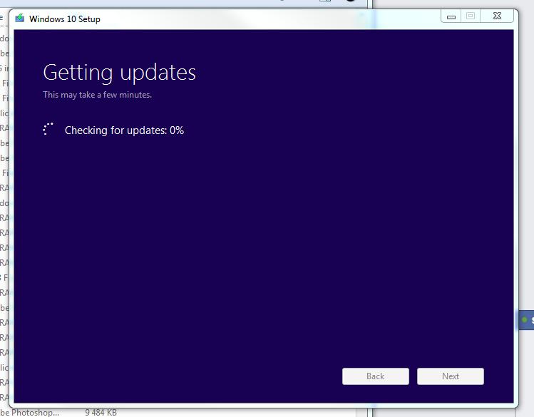 Windows 10 Setup stuck at