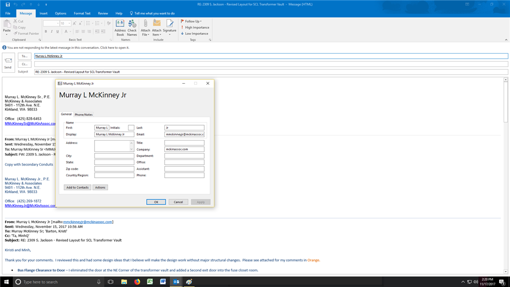 Reply all messages not synchronizing with address book microsoft image image solutioingenieria Image collections