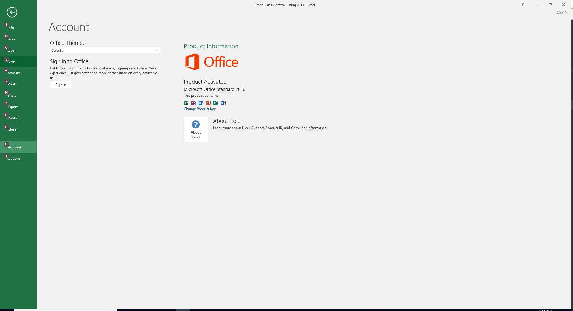 office 2016 standard not activating