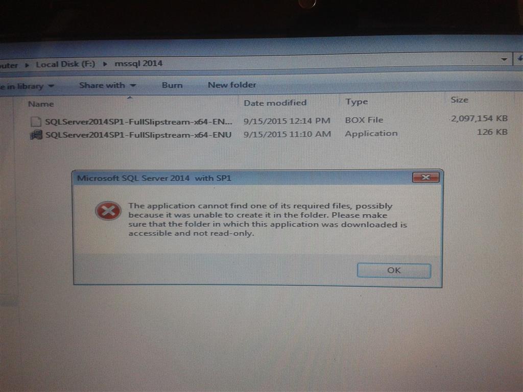 Cannot open  box file - Microsoft Community