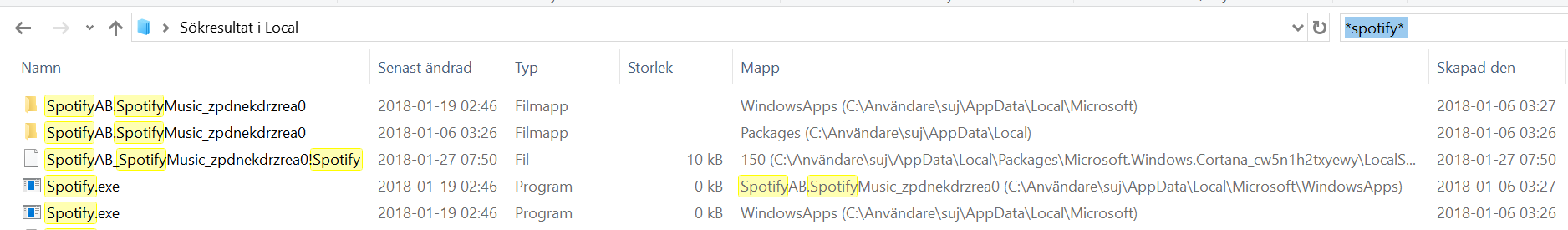 Can't uninstall Spotify - Microsoft Community