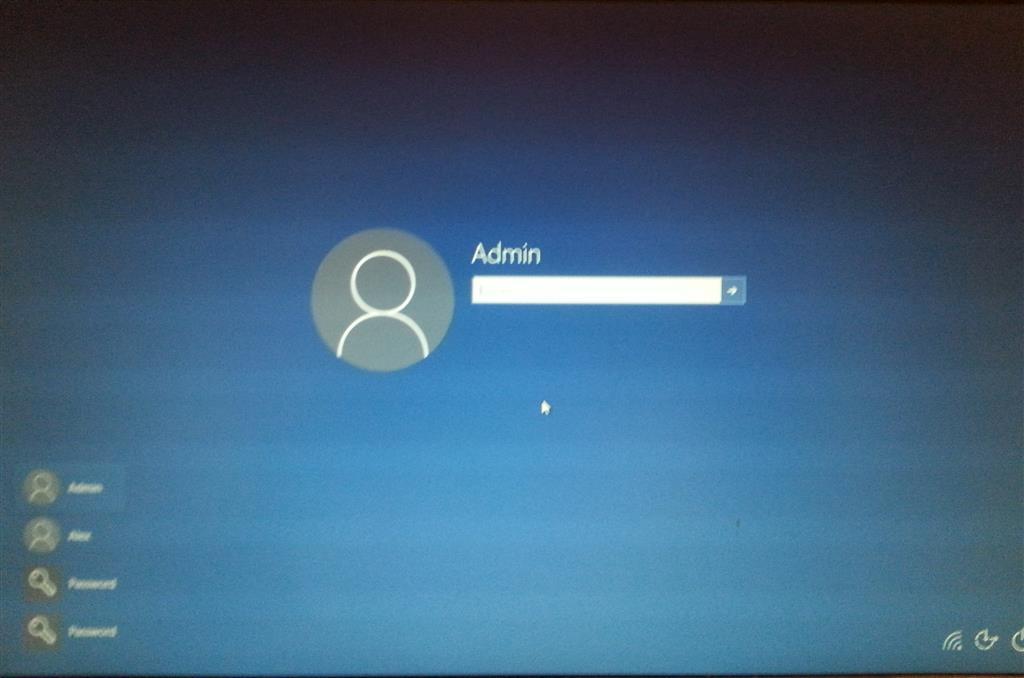 windows 10 login with password